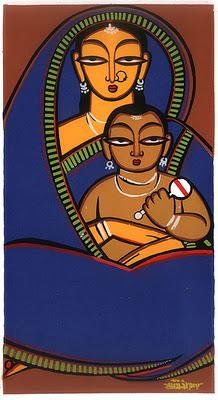 A Jamini Roy by Shama