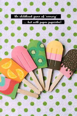 Icecream crafts from the net..