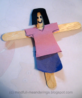 craft stick puppet