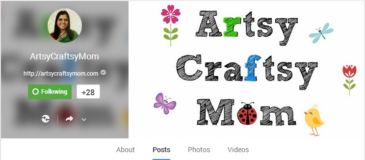 ArtsyCraftsy Mom on G+