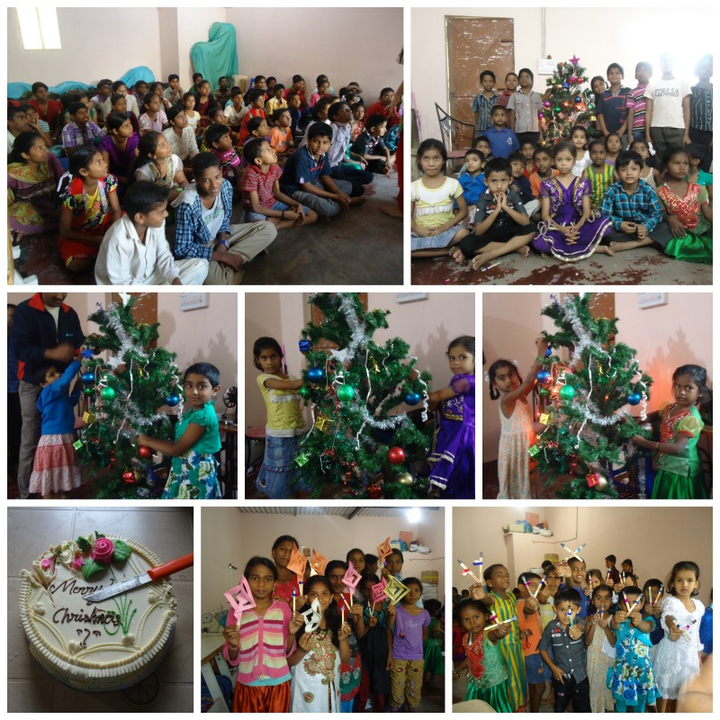 Christmas celebrations at Anand Vidyalaya