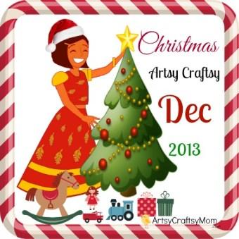 ArtsyCraftsyMom Christmas craft challenge