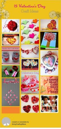 15 Valentine Craft ideas