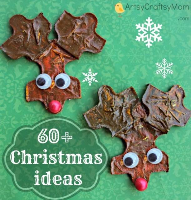 60+ DIY Christmas Crafts Kids Can Make