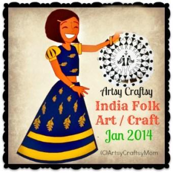 India Folk Art-Craft – AC Challenge Jan 2014