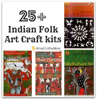 25+ Indian Folk Art Craft Kits