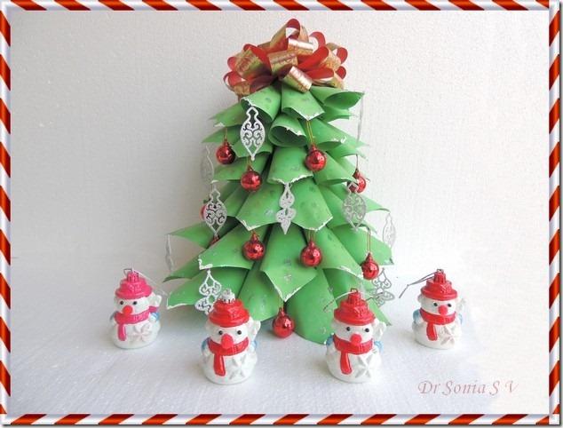 Christmas Craft - Paper Christmas tree