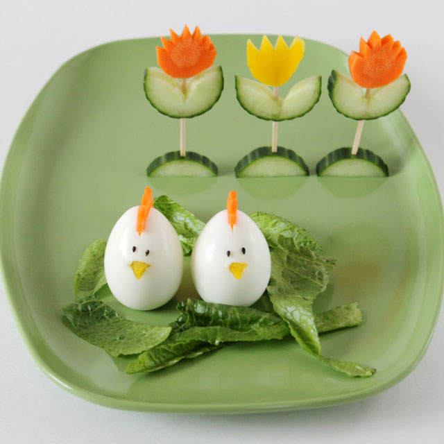 easter-salad-decorations-egg-chicks-vegetable-tulips1