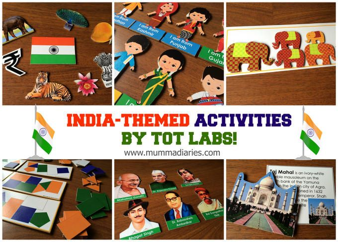 India themed wooden boards
