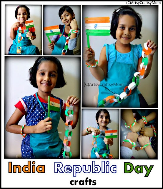 India Republic day crafts | India Republic Day Crafts | Republic day PipeCleaner Crafts Paper Crafts India Crafts Craft Classes Age5 7 Age3 5
