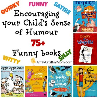 Encouraging your Child's Sense of Humour – 75+ Funny books