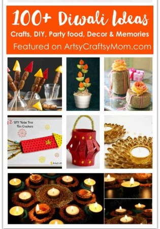 100+ Diwali Ideas – Cards, Crafts, Decor, DIY and Food