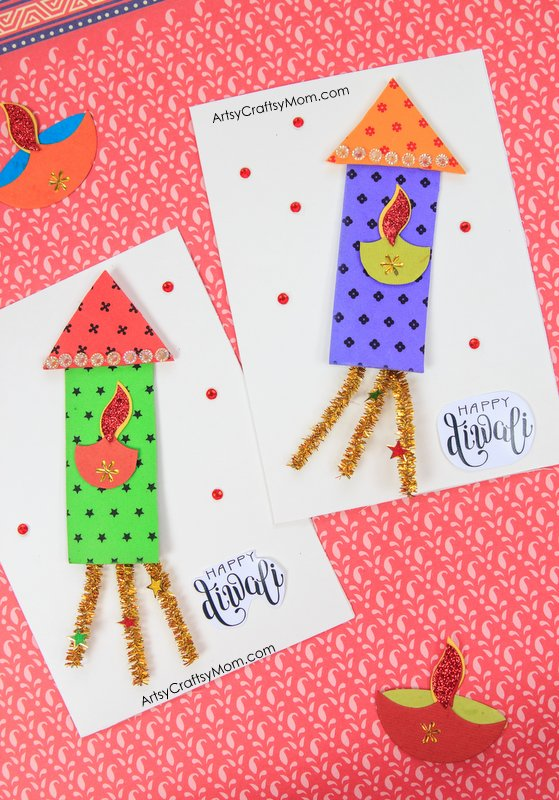 Awesome Diwali Craft Ideas For Kids Part - 9: Artsy Craftsy Mom