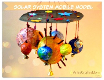 Solar system project mobile