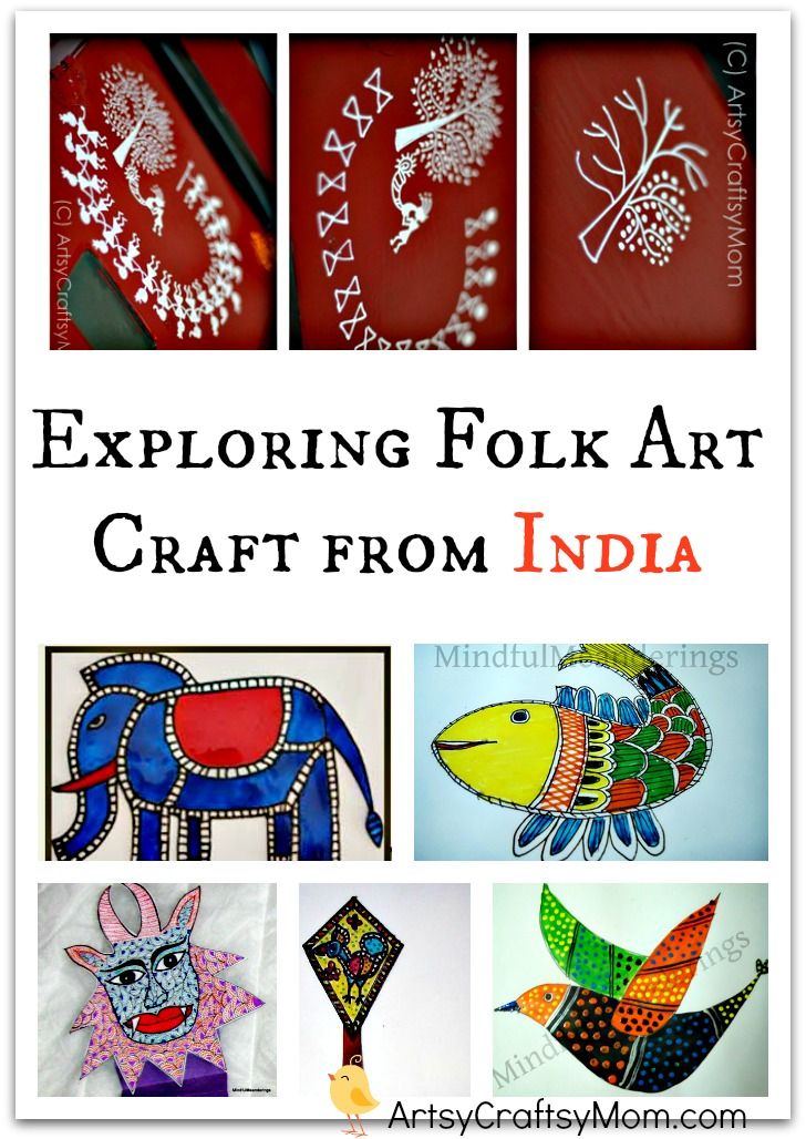 Exploring Folk Art Craft From India With Kids