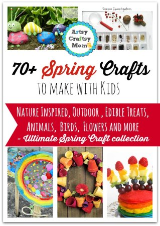 72 Fun, Easy Spring Crafts for Kids