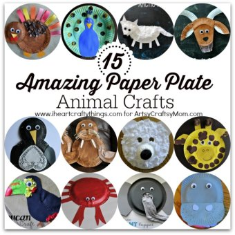15 Amazing Paper Plate Animal Crafts