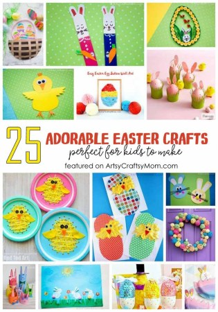 25 Of The Cutest Easter Crafts for Kids