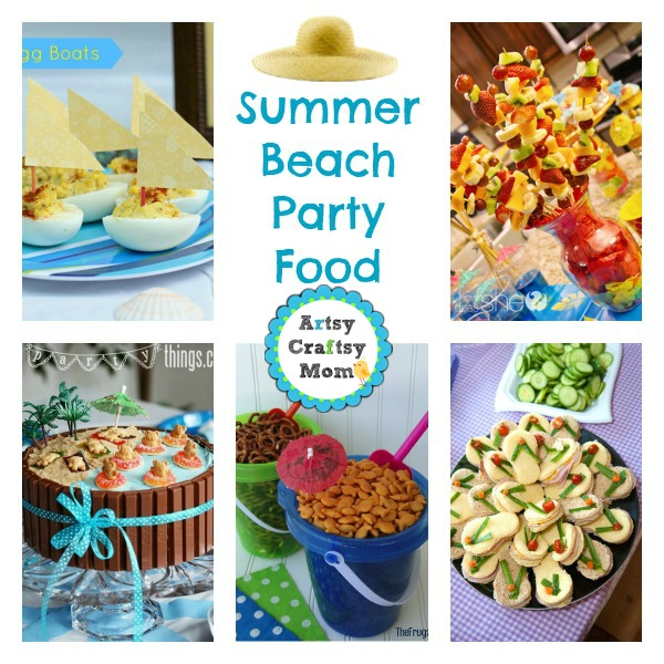Summer Beach Party Food Ideas