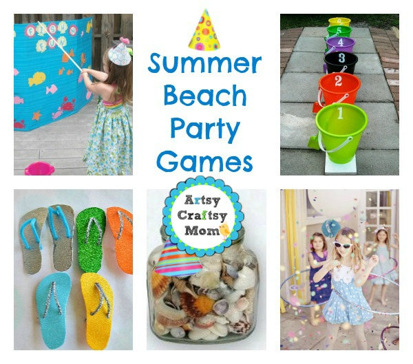 Summer Beach Party Games Ideas