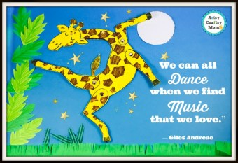 Giraffes Can't Dance – Dancing Giraffe Wall Art