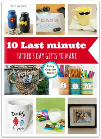 10 Last minute father's day gifts to make