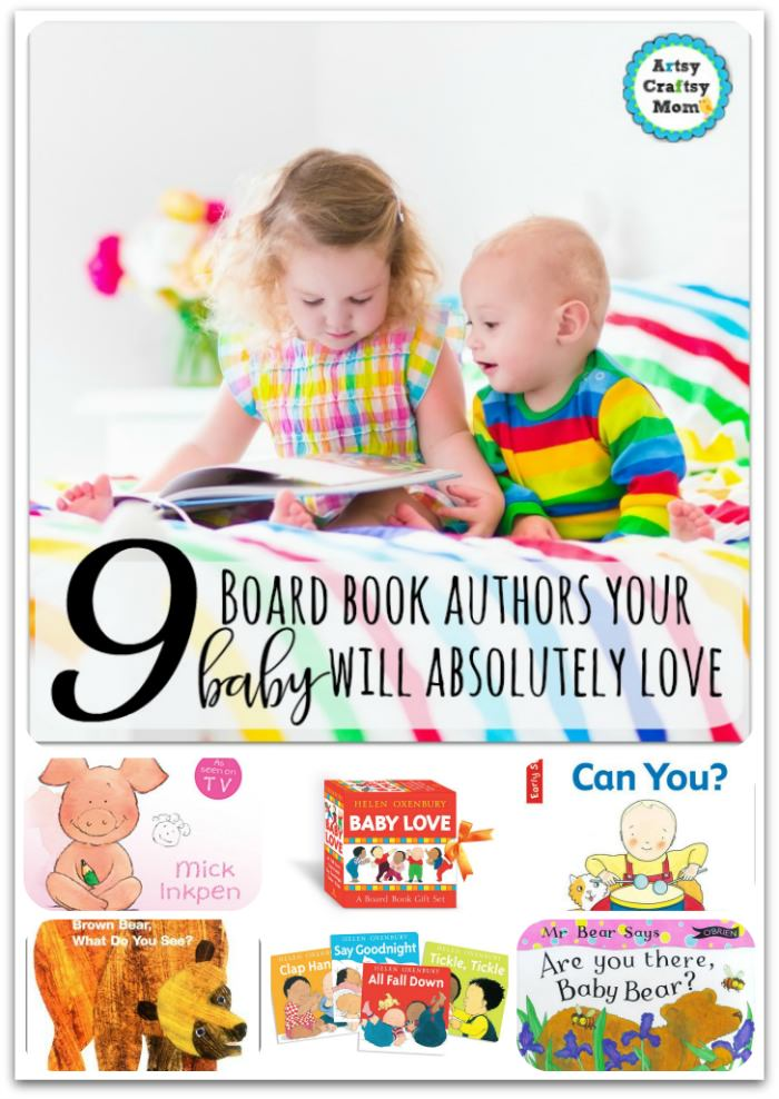 9 board book authors your baby will absolutely love