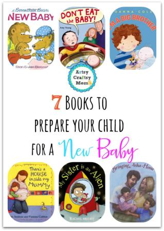 7 Books to prepare children for a New Sibling - Whether they are excited about their new role as big sister or brother, or carefully hiding their toys away from curious baby hands—there is a book out there that will help your child adjust to sharing the spotlight.