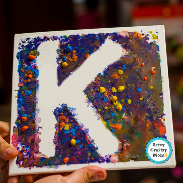 melted crayon art-0779