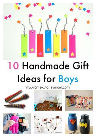 10 Handmade Gift Ideas for Boys