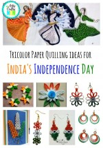 Tricolor Paper Quilling Ideas For India S Independence Day