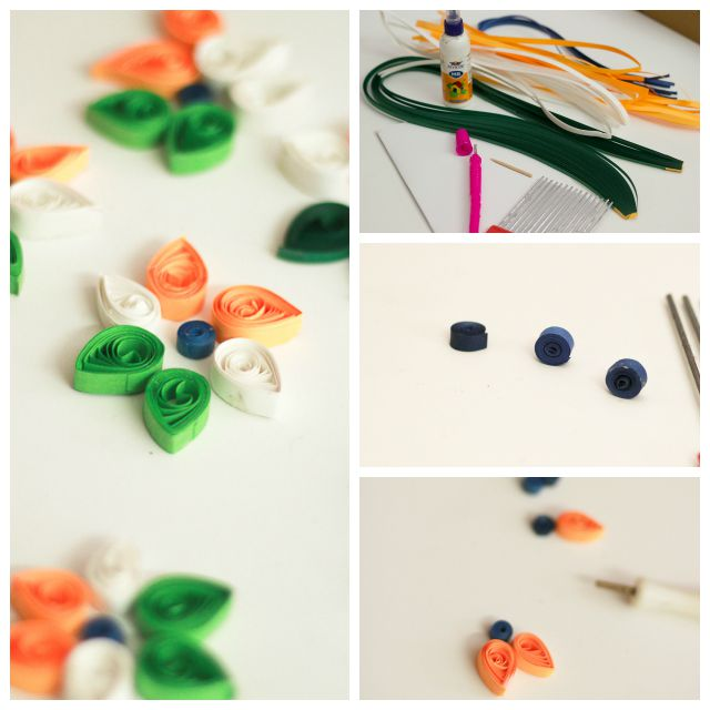 Tricolor Paper Quilling Ideas For India S Independence Day Artsy