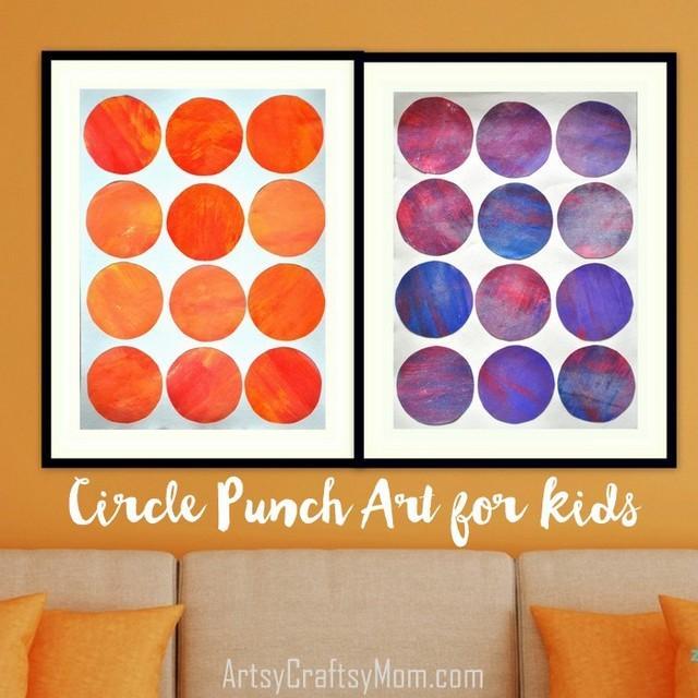 Circle Punch Art001