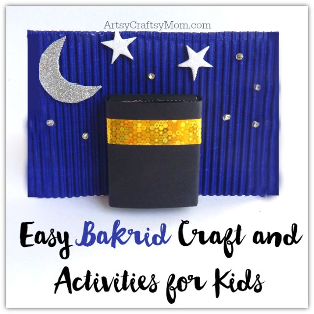 Easy Bakrid Craft and Activities for Kids1