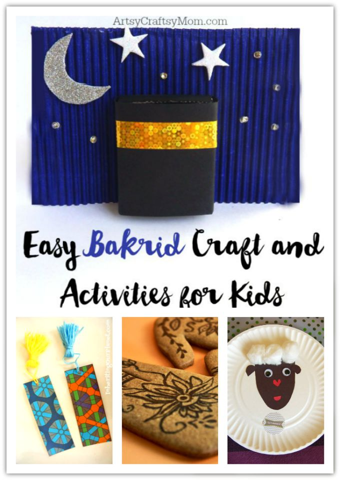 Looking for Ideas to celebrate Bakr Id or Eid ul Adha? Here are a few Easy Bakr Id/Eid ul-Adha Crafts and Activities for Kids!