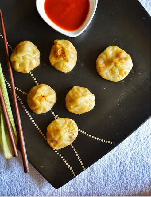 Momos - Is your kid a picky eater? Try these 15 Recipes That Will Make Your Kids Love Vegetables again. Fun finger foods in an all new healthy vegetarian avatar. Pasta, kebabs, fries. perfect for school lunches