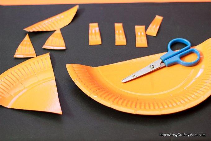 Paper Plate Mr Fox - roald dahl-6755