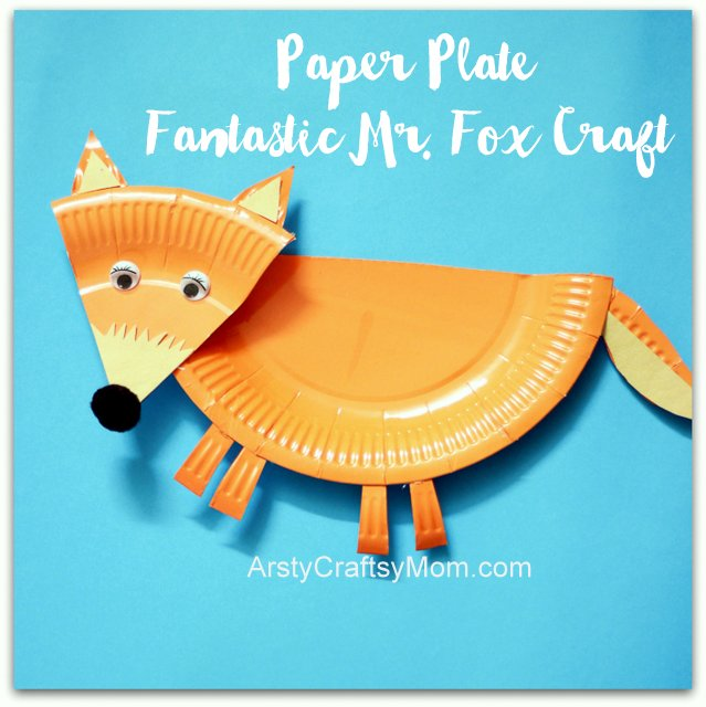 This week, we made a Paper Plate Fantastic Mr. Fox Craft – perfect for World Book day, when you are enjoying the book or celebrating Roald Dahl day! Easy to cut and assemble. Frugal , fun puppet to make at home. Also goes with books - The Fox in the Dark, Bedtime in the Meadow (Padded Board Books) , Fox in Socks ,What Does the Fox Say?, I Love You Because You're You, Red Riding Hood