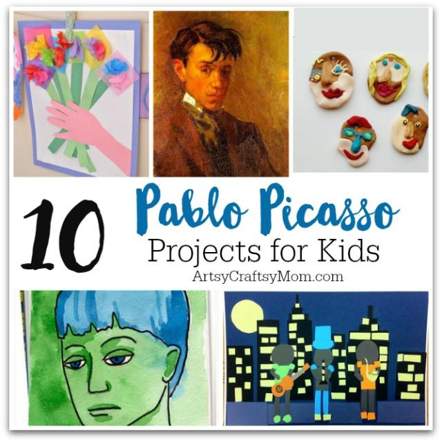 Top 10 Pablo Picasso Projects For Kids