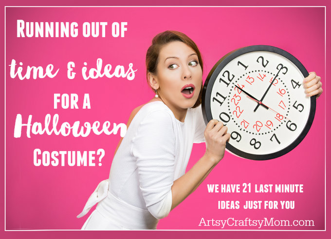 Try these 21+ Last minute Halloween costume ideas that are both creative and easy and you can pull off in less than one hour. Minions, bandits, dolls and more