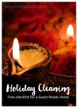 Holiday Cleaning: Free checklist for a Guest-Ready Home