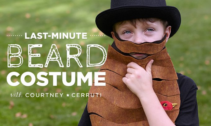 Last minute halloween bearded man costume - Try these 21+ Last minute Halloween costume ideas that are both creative and easy and you can pull off in less than one hour. Minions, bandits, dolls and more