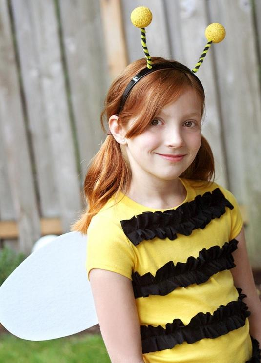 bumble bee costume - Try these 21+ Last minute Halloween costume ideas that are both creative and easy and you can pull off in less than one hour. Minions, bandits, dolls and more