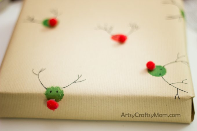 Homemade Christmas wrapping paper_-9