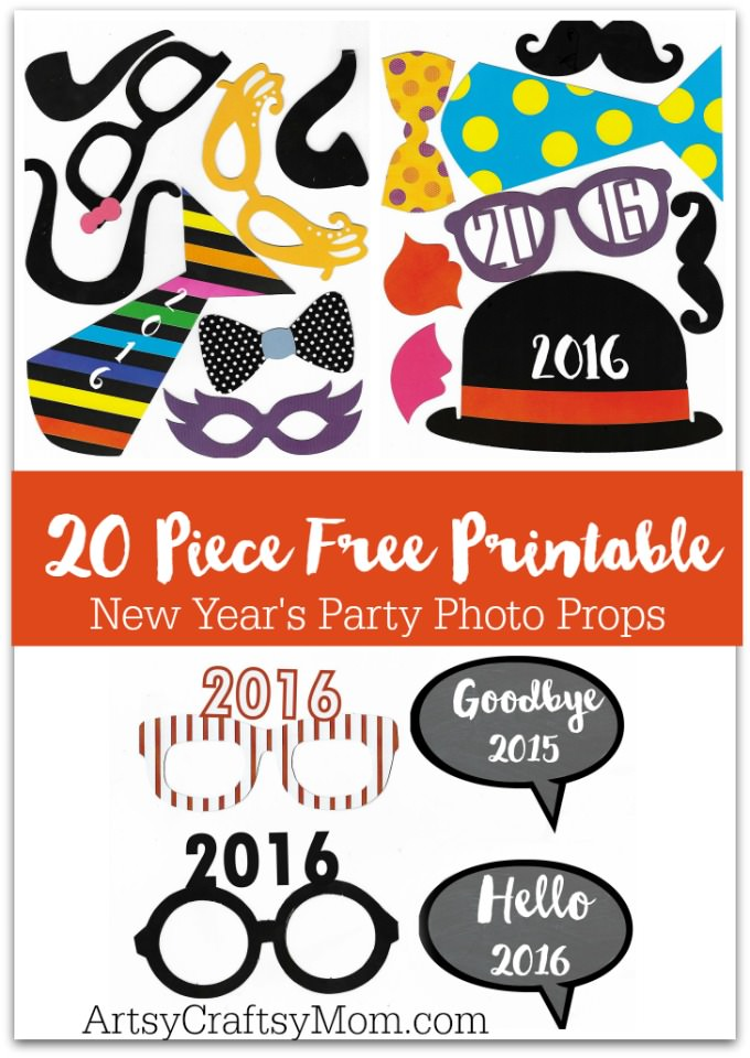 graphic about Free Printable Photo Booth Props called 20 Printable Image Props 2016