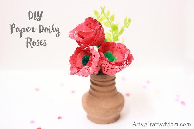 Doily Rose8