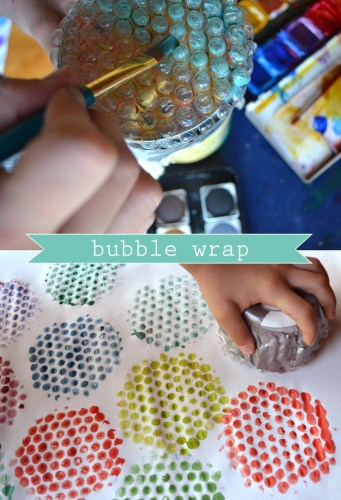 Bubble Wrap activities