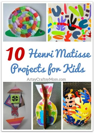 Top 10 Henri Matisse Projects for Kids
