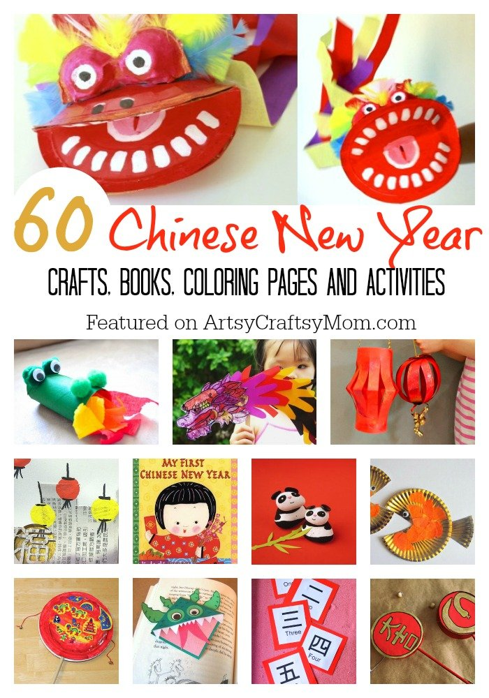 A Collection Of The Top 60 Chinese New Year Crafts And Activities For Kids Colouring