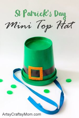 DIY St Patrick's Day Leprechaun Hats